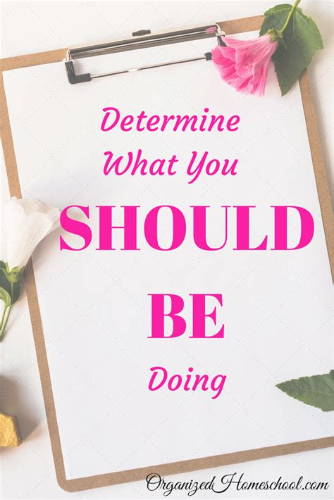 Determining What You Should Be Doing Is Crucial