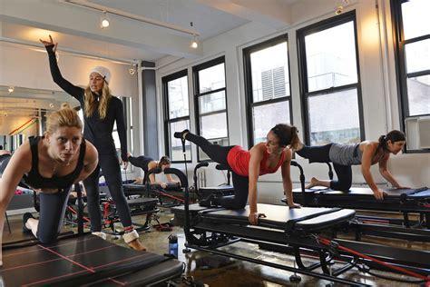 Megaformer Workout At Slt Studio