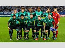 FC Schalke 04 team photo UEFA Champions League nav