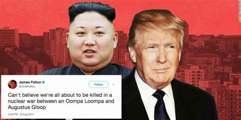 Kim And Trump Memes - 16 best tweets and funny memes about donald trump and kim jong un nuclear war threats yourtango