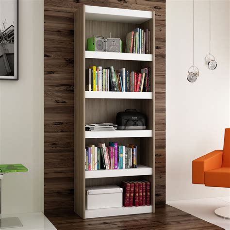 28 Inch Bookcase by Modern Shelving Panama 28 Oak Bookcase Eurway