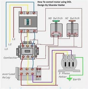 Wiring Diagram For Contactor  U2013 Moesappaloosas Com