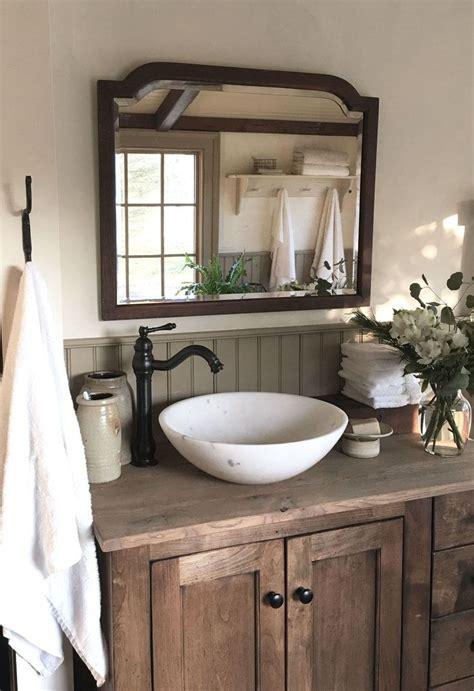 perfect rustic farmhouse bathroom design ideas rustic