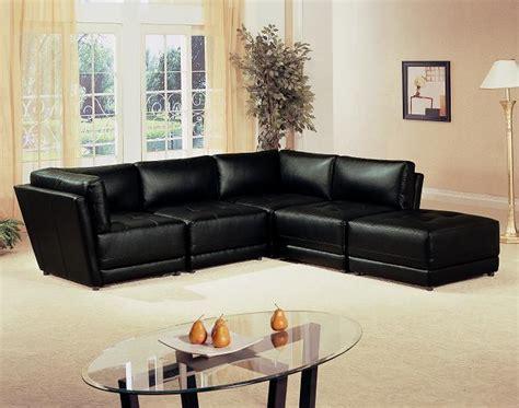 furniture outlet black modular sectional sofa set
