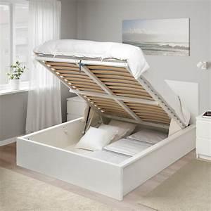 Bett Ikea Malm : malm white ottoman bed standard double ikea ~ A.2002-acura-tl-radio.info Haus und Dekorationen