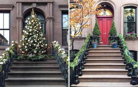 decorating your apartment for christmas in nyc and the city 8 new york doors we fell in with