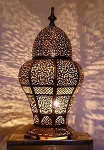 Lampe De Salon : lampes de salon marocain oriental d co salon marocain ~ Teatrodelosmanantiales.com Idées de Décoration