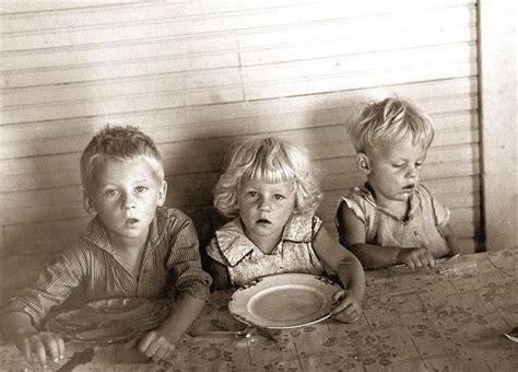 children   great depression starving children
