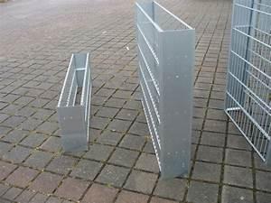 Sichtschutz 100 Cm Hoch : gabionenzaun stirnblech 2 er set 100 cm hoch ~ Bigdaddyawards.com Haus und Dekorationen
