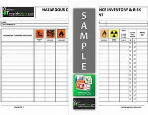 health safety forms construction templates With hazardous substance register template