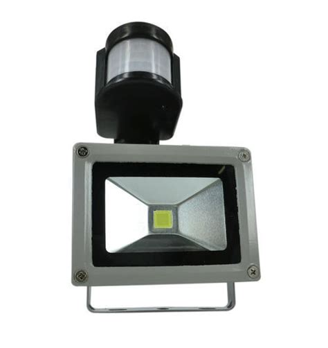 items 10w outdoor led flood light with sensor