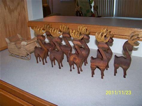 bandsaw reindeer  sleigh  billinmich  lumberjocks