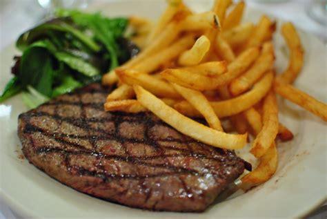 cuisine plaisir steak frite ou burger bistro l 39 entracte