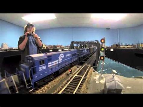 doug tagsolds amazing ho scale conrail layout youtube