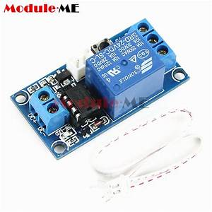 Dc 5v  12v  24v 1 Channel Latching Relay Module With Touch