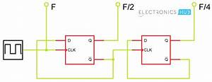 Frequency Divider Circuit Using 555 And 4017 Using 555