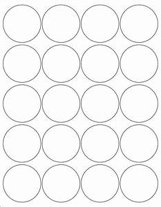 2 inch round labels stickers 5 sheets by poofyprints on etsy With 2 inch circle label template