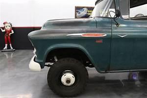 1957 Chevrolet 3100 0 Green 283 V8 4 Speed Manual For Sale