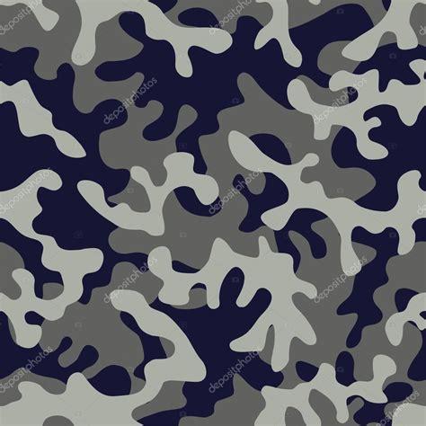 color camo camo in blue gray color stock vector