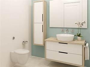 Wandfarbe Für Bad : bad streichen wandfarben f rs badezimmer ~ Michelbontemps.com Haus und Dekorationen