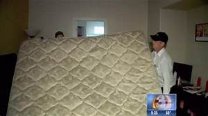woman buys new mattress with free old mattress inside full With bed bugs inside mattress