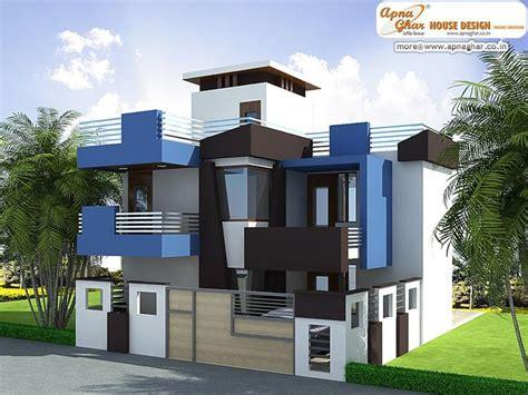 pin  apnaghar  apanghar house designs bungalow house