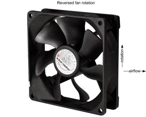 Computer Fan Flow Direction