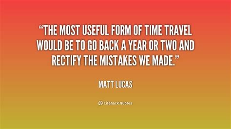 Travel Back In Time Quotes