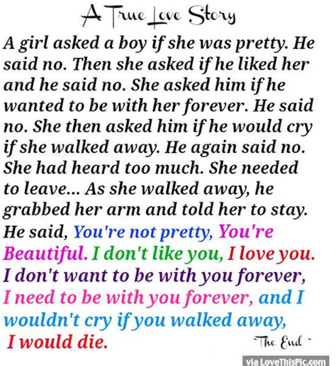 true love story quote pictures   images