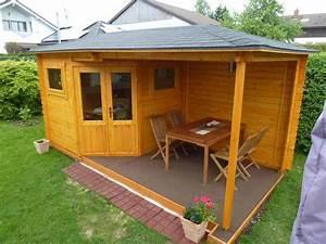 Anbau Für Gartenhaus : 5 eck gartenhaus mit anbau modell mosel 28 ~ Whattoseeinmadrid.com Haus und Dekorationen