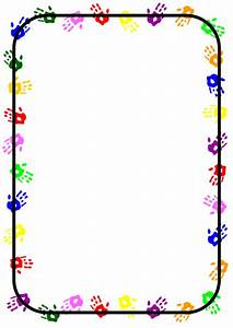 Handprint borders by toty - Teaching Resources - Tes