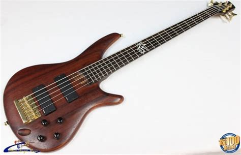 2002 ibanez fieldy k5 signature 5 string bass natural reverb