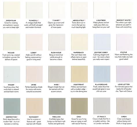 paint color names list www pixshark images