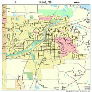 Kent Ohio Map