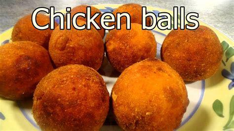 tasty chicken balls easy food recipes  dinner