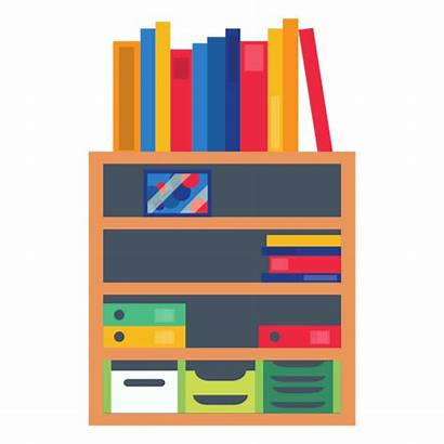Transparent Shelf Clipart Office Bookshelf Svg Vector