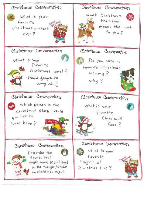 christmas fun cards free printables christmas games