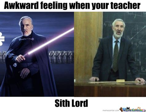 Count Dooku Meme - my teacher count dooku by mircenall meme center