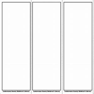 blank bookmark template pinteres With bookmarkers template