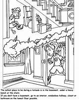 Tornado Coloring Pages Worksheet Books Printable Prep sketch template