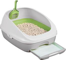 cat litter box tidy cats cat litter box system chewy