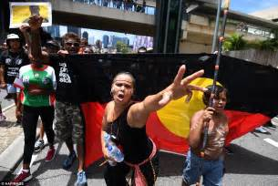 Australia Day protesters clash with police in Sydney ...