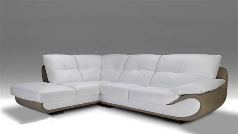 canap d angle contemporain design canape bicolore design maison design wiblia com
