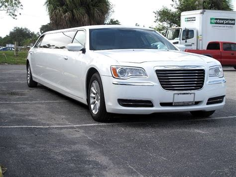 Chrysler For Sale by 2011 Chrysler 300 Limousine White For Sale