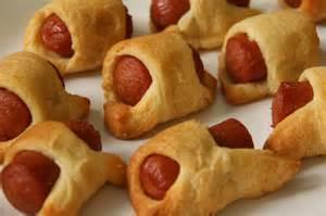 Hot Dog Crescent Roll Appetizers Recipe