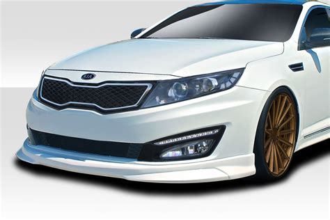 Kia Kits by 2012 Kia Optima 0 Fiberglass Front Lip Add On Kit