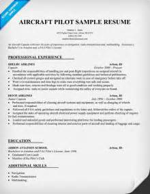 pilot resume template word aircraft pilot resume http resumecompanion resume sles across all industries