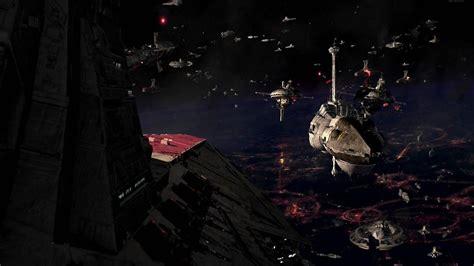 Star Wars Space Battle Wallpaper Wallpapersafari