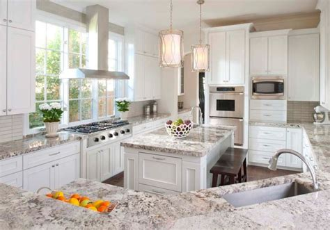 kitchen decorating ideas for countertops stunning white textured granite countertop for