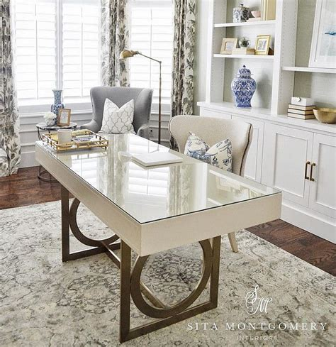 Ideas For Home Office Desk Home Office Neutral With
